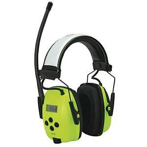 Howard Leight casque antibruit hi-viz avec radio numérique AM / FM SNR 29dB