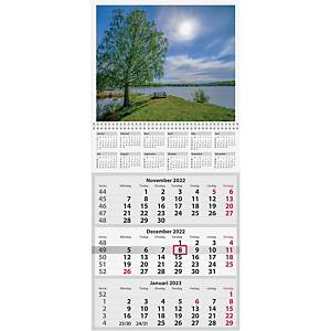 Kalender Burde 91 1746 Trebello 330 x 735 mm