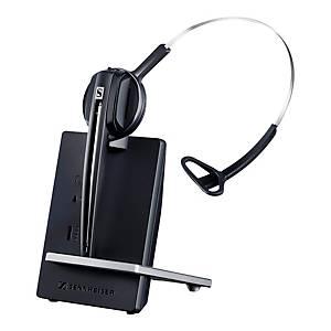 Headset Sennheiser 506408, D10, kabellos, schwarz