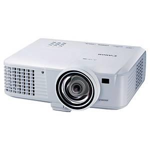 Canon tragbarer Projektor LV-WX310ST, RJ-45 und HDMI™ kompatibel mit MHL