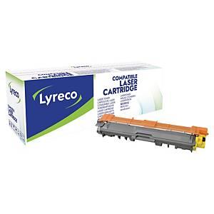 Lasertoner Lyreco Brother TN-245Y kompatibel, 2 200 sider, gul