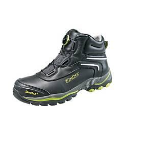 Bata Bickz 305 S3 hoge schoen zwart/geel - maat 41