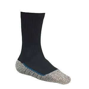 Chaussettes Bata Cool MS 2 Noir, noires/grises, pointure 35-38, la paire