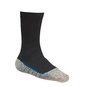 Chaussettes Bata Cool MS 2 Noir, noires/grises, pointure 47-50, la paire