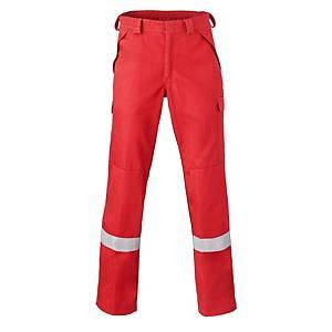 Pantalon de travail Havep 5Safety 8775, rouge, taille 52, la pièce