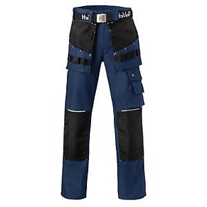 Havep Worker.Pro 8730 werkbroek, marineblauw/zwart, maat 46, per stuk