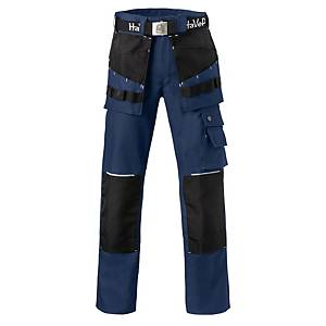Havep Worker.Pro 8730 werkbroek, marineblauw/zwart, maat 48, per stuk