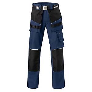 Havep Worker.Pro 8730 werkbroek, marineblauw/zwart, maat 52, per stuk