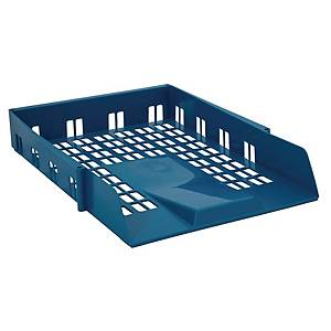 AVERY 1132 BLUE BASICS LETTER TRAY, 278 x 70 x 390MM