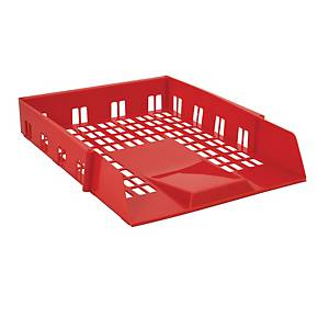 Avery 1132Red Basics Letter Tray, 278.0 X 70.0 X 390 mm