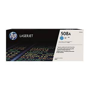 HP CF361A LaserJet Toner Cartridge (508A) - Cyan
