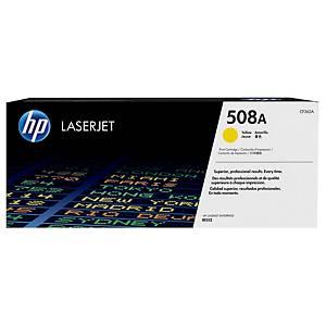 HP 508A CF362A laservärikasetti keltainen