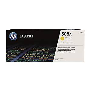 HP CF362A LaserJet Toner Cartridge (508A) - Yellow