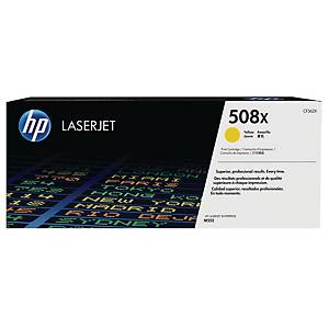 HP 508X High Yield Yellow Original Laserjet Toner Cartridge (CF362X)