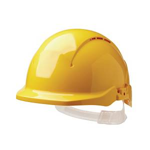 Centurion S08A Concept Reduced Peak Vented Safety Helmet Yellow