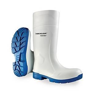 Bottes de sécurité Dunlop Purofort multigrip S4 - blanches - pointure 42