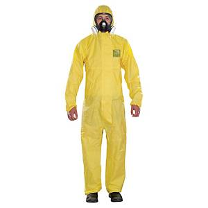 Alphatec 2300 Plus Coverall Large Yellow