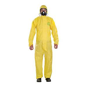 Tuta di protezione monouso Ansell Alphatec® 2300 Plus giallo tg XL