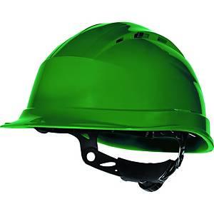 Deltaplus Quartz UP 3 Safety Helmet Green