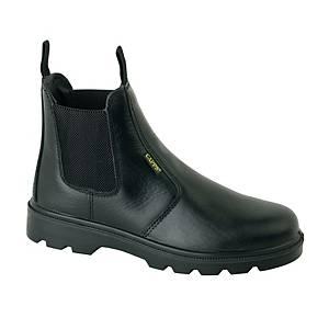 Deltaplus LH829 Leather Dealer Safety Boot Black Size 9