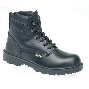 Deltaplus LH832 Derby Safety Boot Black Size 9