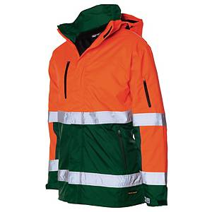 Tricorp TPE3001 parka hi-viz orange/vert - taille 4XL