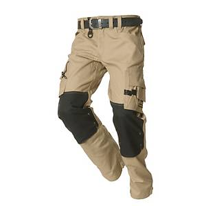 TRICORP TWC2000 TROUSERS BEIGE/BLACK 54