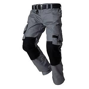 Pantalon de travail Tricorp TWC2000, gris/noir, taille 46, la pièce