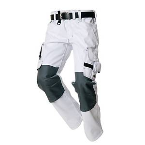 TRICORP TWC2000 TROUSERS WHITE/GREY 62