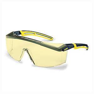 Ochranné okuliare uvex astrospec 2.0, žlté