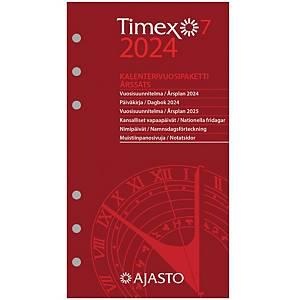 Ajasto Timex 7 kalenterivuosipaketti