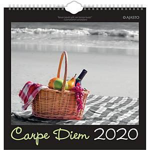 Ajasto Carpe Diem seinäkalenteri 2020 290 x 290 mm