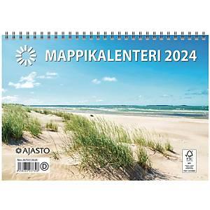 Ajasto Mappikalenteri seinäkalenteri 2021 250 x 352 mm