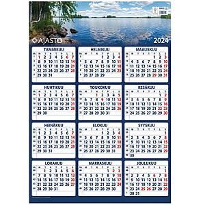 Ajasto Maxi seinäkalenteri 2021 520 x 740 mm