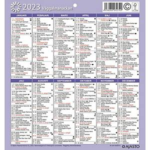 Ajasto Seinäalmanakka seinäkalenteri 2021 197 x 210 mm