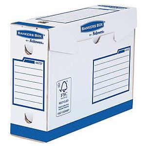 Fellowes arkistolaatikko 100 mm sininen, 1 kpl=20 laatikkoa