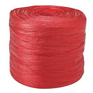 금성 포장끈 600g 빨강 4개입 (약 520m)