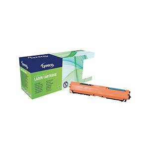 Lyreco HP CF351A Compatible Laser Cartridge - Cyan