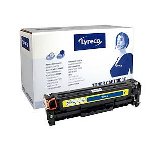 Lyreco Compatible 312A Laser Toner  HP CF382A Yellow