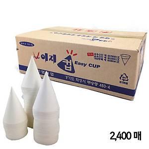 원형 뿔컵 (2400매입)