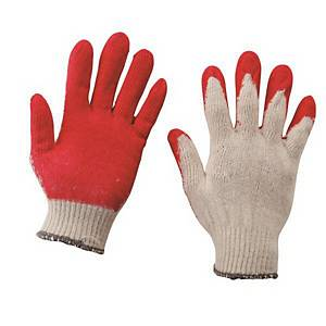 PK10 CHUNIL SEMI-COATING GLOVES RED