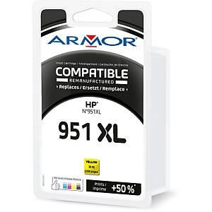 Cartouche d encre Armor compatible équivalent HP 951XL - CN048AE - jaune