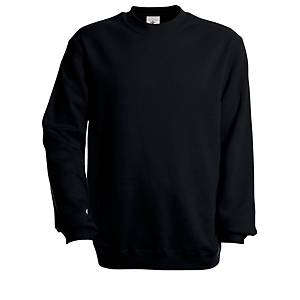 B&C set-in sweater black L - BX 5