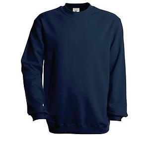 B&C set-in sweater bleu marine - taille S