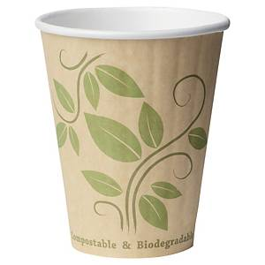 Thermo cup Eco, 24 cl, printed, package of 40 pcs