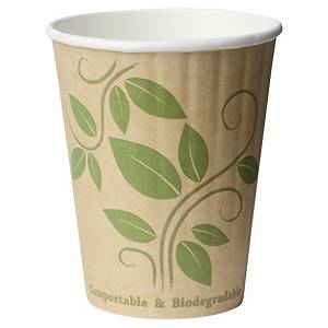 Eco thermo cup, 35 cl, printed, pack of 35