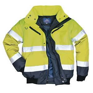 Portwest C465 blouson hi-viz 3EN1 jaune/bleu marine - taille 5XL