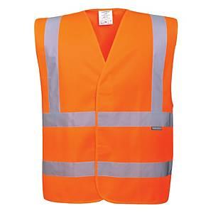 Veste fluo Portwest C470 hi-viz, orange fluo, taille 4XL/5XL, la pièce
