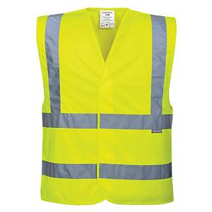 Veste fluo Portwest C470 hi-viz, jaune fluo, taille S/M, la pièce