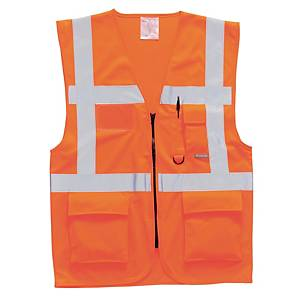 Portwest S476 hi-viz gilet Executive oranje - maat M